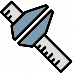 building, construction, ruler, tool, work icon