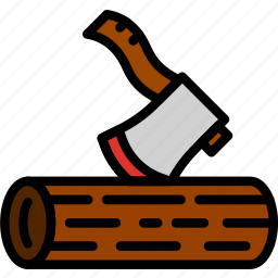building, construction, cutting, tool, wood, work icon