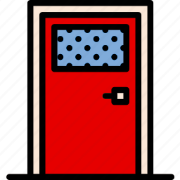 building, construction, door, tool, work icon