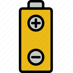 battery, building, construction, tool, work icon