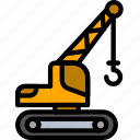 building, crane, construction, work, tool