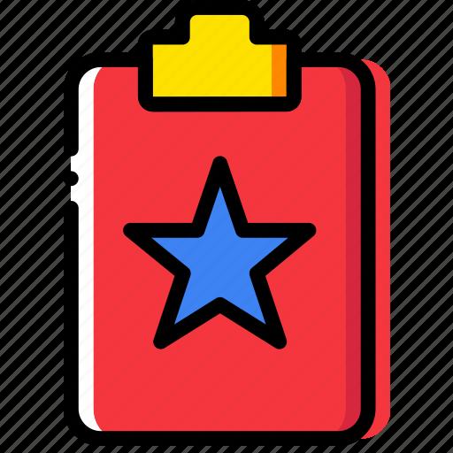 clipboard, document, favroite, file, folder, paper icon