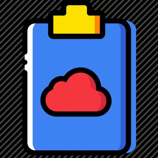 add, cloud, document, file, folder, paper icon