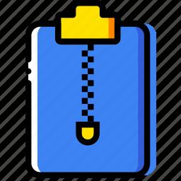 archive, clipboard, document, file, folder, paper icon