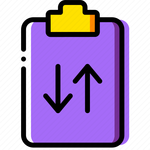 clipboard, document, file, folder, paper, sync icon