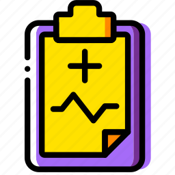 clipboard, document, file, folder, medical, paper icon