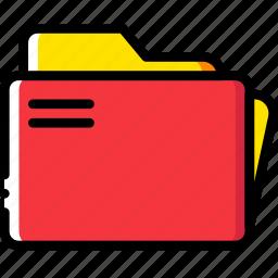 clipboard, document, file, folder, folders, paper icon