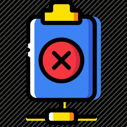 connect, delete, document, file, folder, paper icon