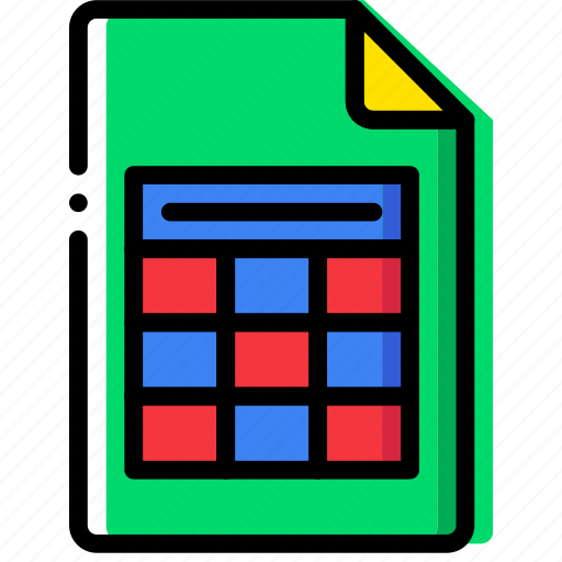 clipboard, document, file, folder, paper, xslx icon