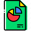 clipboard, document, file, folder, paper, pptx icon