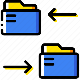 clipboard, connect, document, file, folder, folders, paper icon