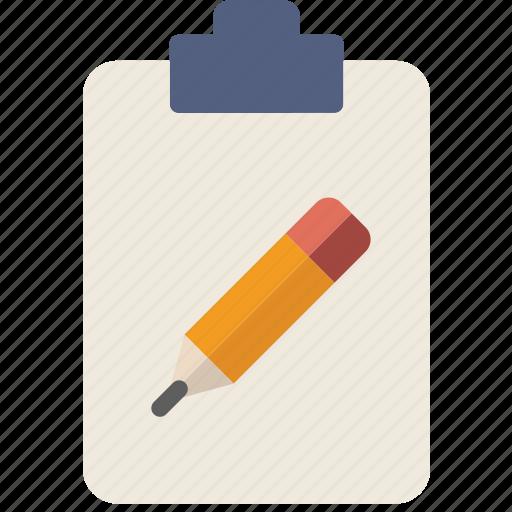 document, edit, file, note, paper, write icon