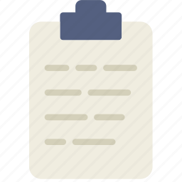 document, file, note, paper, write icon