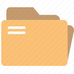 document, folders, note, paper, write icon