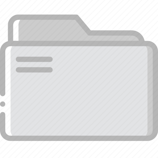 document, folder, paper, write icon
