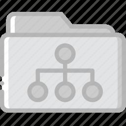 document, folder, paper, share, write icon