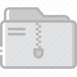 archive, document, folder, paper, write icon