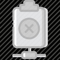 connect, delete, document, file, paper, write icon