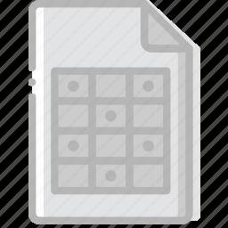 document, file, paper, write icon