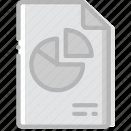 document, file, paper, pptx, write icon