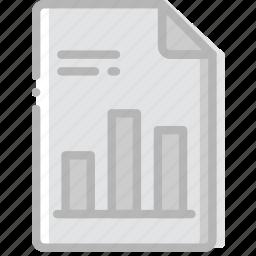 document, file, graphic, paper, write icon