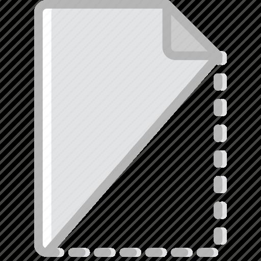 cut, document, file, paper, write icon