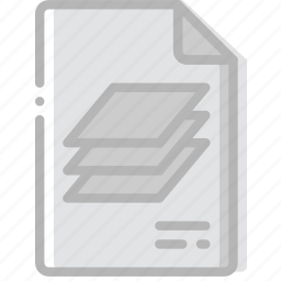 document, file, paper, psd, write icon