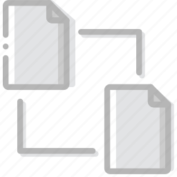 connect, document, file, paper, write icon