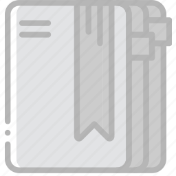 diary, document, paper, write icon