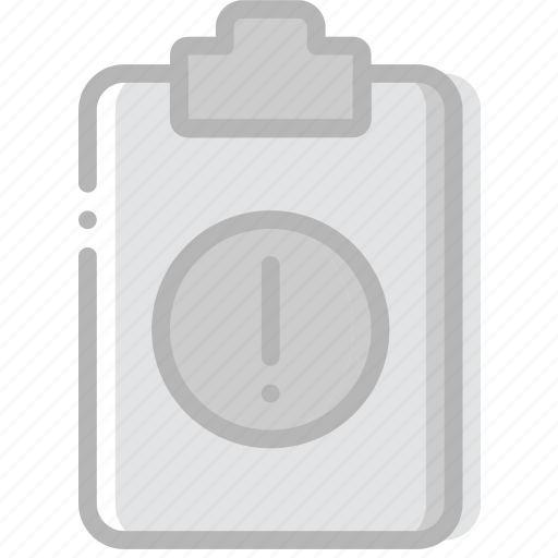 document, file, paper, warning, write icon