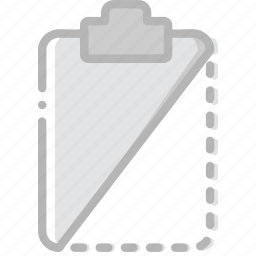 cut, document, file, paper, write icon