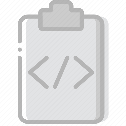 code, document, file, paper, write icon