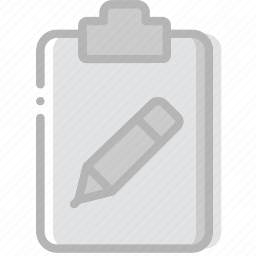 document, edit, file, paper, write icon