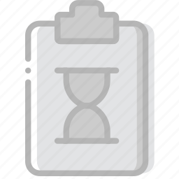 document, file, loading, paper, write icon