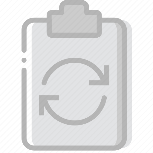 document, file, paper, sync, write icon