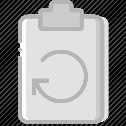 document, file, paper, refresh, write icon