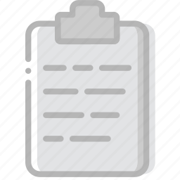 document, file, paper, write icon