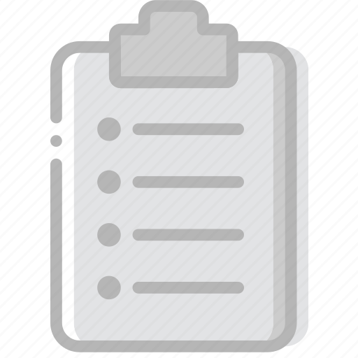 document, file, ordered, paper, write icon