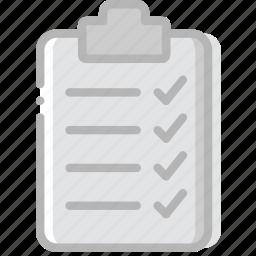 check, document, list, paper, write icon