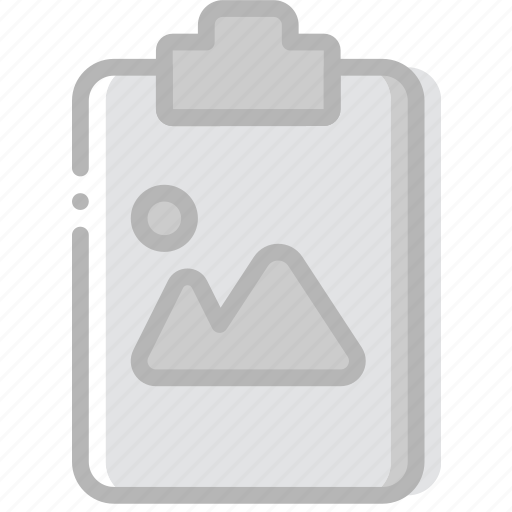 document, file, image, paper, write icon
