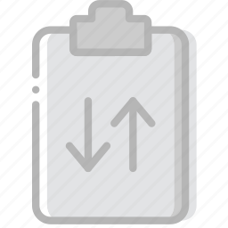 document, file, paper, sync, write icon