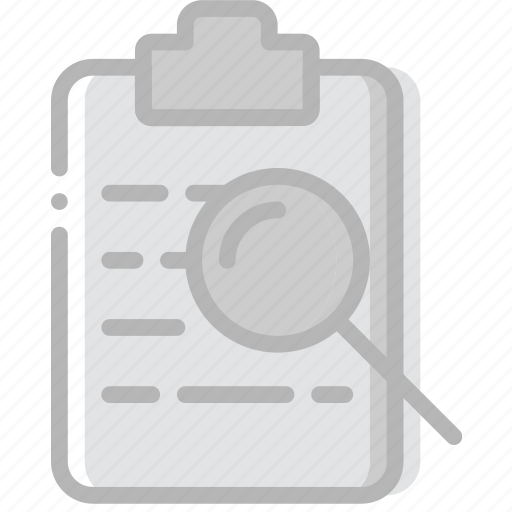 document, file, paper, search, write icon