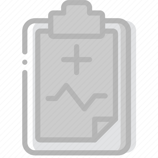 document, file, medical, paper, write icon