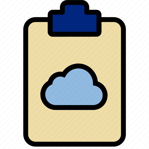 add, cloud, document, file, note, paper, write icon