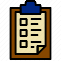 document, file, list, note, paper, write icon