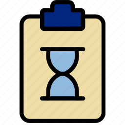 document, file, loading, note, paper, write icon