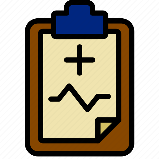 document, file, medical, note, paper, write icon