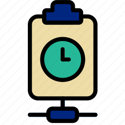 connect, document, file, note, paper, wait, write icon