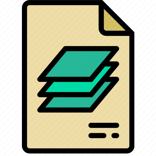 document, file, note, paper, psd, write icon