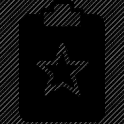document, favorite, file, note, paper, write icon